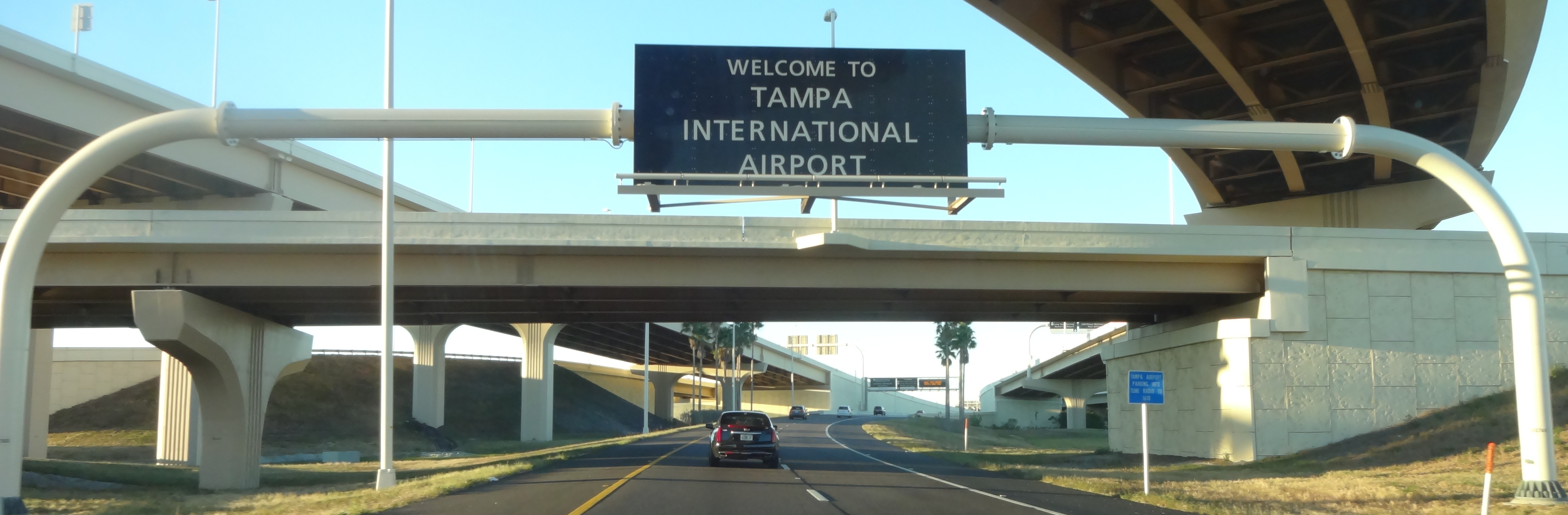 The road leading to the world s finest airport tampa international airport